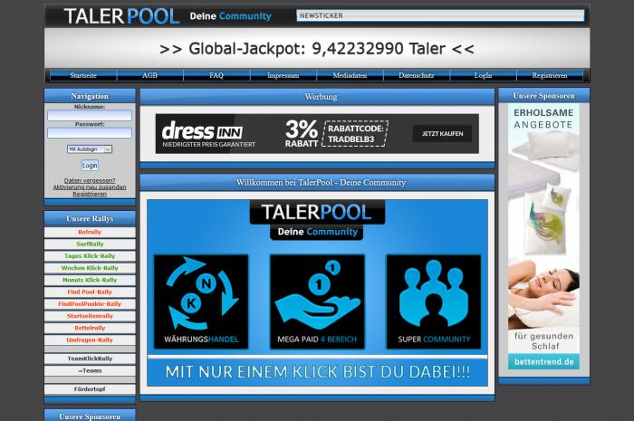 Talerpool.de